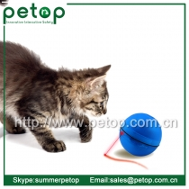 2015 Cheap Hot-selling Random Moving Led Pet Ball Toy