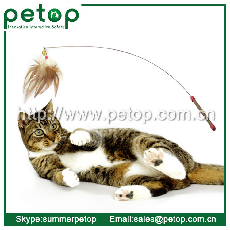 Luxury Interactive Feather Wand Cat Toy