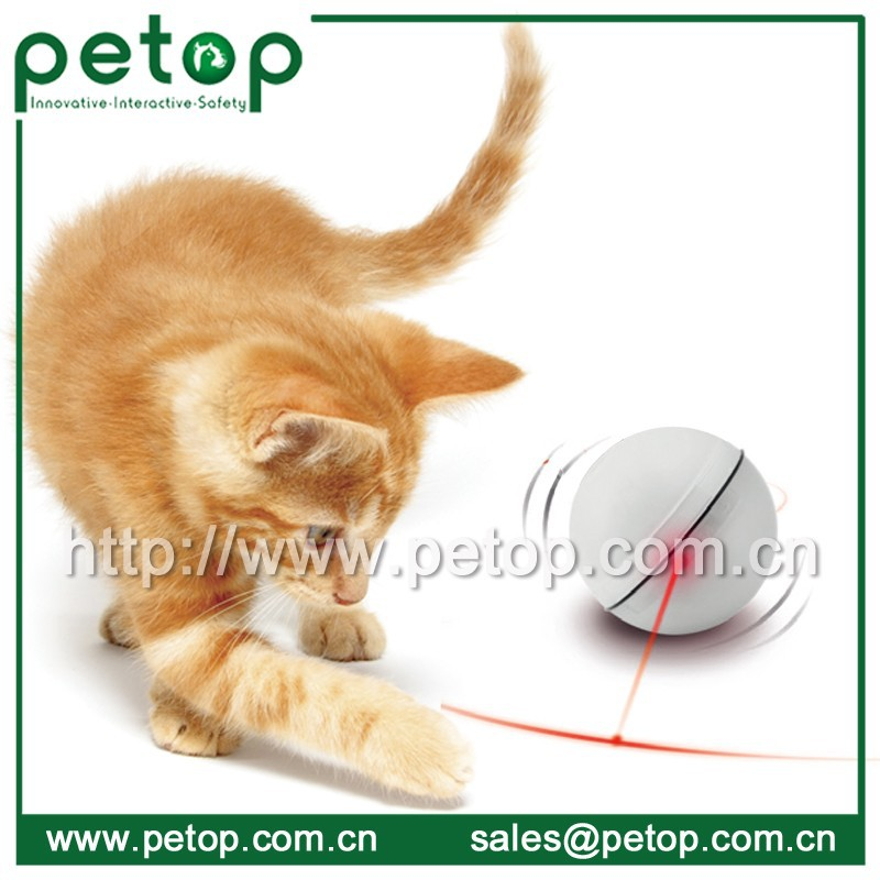 White Active OEM Exercise Cat Toys Ball